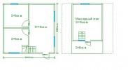 Проект каркасно-щитового дома «Анисимово»