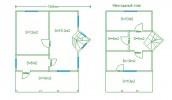 Проект каркасно-щитового дома «Вещево»