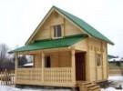 Проект дома из бруса «Андреевщина»