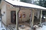 Проект каркасно-щитового дома «Аврово»