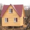 Проект каркасно-щитового дома «Белое»