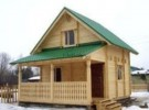 Проект каркасно-щитового дома «Аннино»