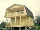 Проект каркасно-щитового дома «Бабино»