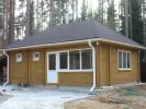 Проект дома из бруса «Алеховщина»