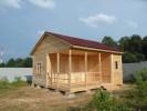 Проект каркасно-щитового дома «Алексеевка»