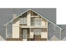 Проект дома из бруса «Выборг»
