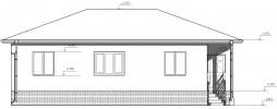 Проект дома из бруса «Кобона»