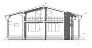 Проект дома из бруса «Камышевка»