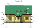 Проект каркасно-щитового дома «Зимитицы»