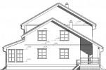 Проект каркасно-щитового дома «Воейково»
