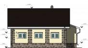 Проект каркасно-щитового дома «Гостинополье»