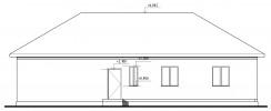 Проект дома из бруса «Климово»