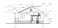 Проект каркасно-щитового дома «Кириши»