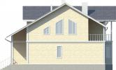 Проект дома из бруса «Горьковское»