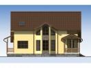 Проект дома из бруса «Жемчужина»