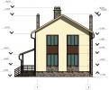 Проект каркасно-щитового дома «Голубково»