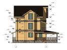 Проект каркасно-щитового дома «Заручье»