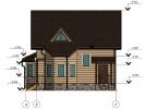 Проект дома из бруса «Ильжо»