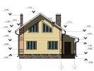 Проект дома из бруса «Забелино»