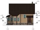 Проект дома из бруса «Калитино»
