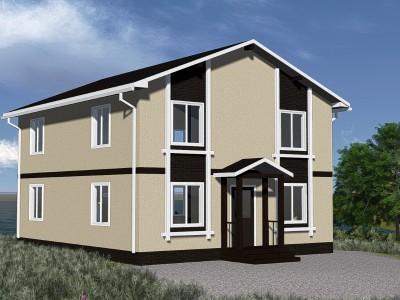 Проект дома из бруса «Винницы»