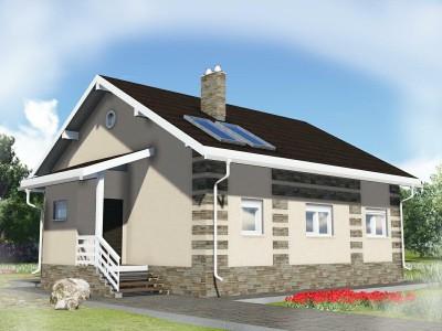 Проект дома из бруса «Гостинополье»