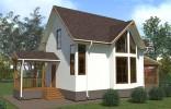 Проект дома из бруса «Загубье»