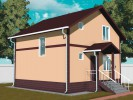 Проект дома из бруса «Кингисепп»