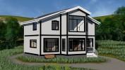 Проект дома из бруса «Гончарово»