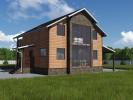 Проект дома из бруса «Ермилово»
