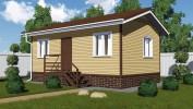 Проект каркасно-щитового дома «Войскорово»