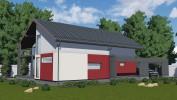Проект дома из бруса «Кисельня»