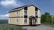 Проект каркасно-щитового дома «Винницы»