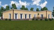 Проект каркасно-щитового дома «Войсковицы»