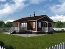 Проект дома из бруса «Глажево»